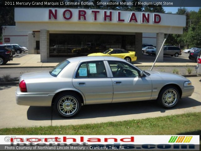 2011 Mercury Grand Marquis LS Ultimate Edition in Smokestone Metallic