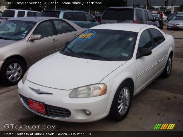 on 2002 Chrysler Sebring Lxi For Sale