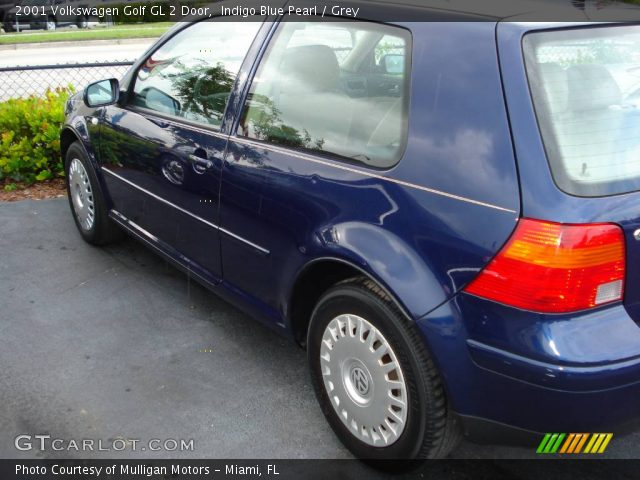 indigo blue pearl 2001 volkswagen golf gl 2 door grey. Black Bedroom Furniture Sets. Home Design Ideas