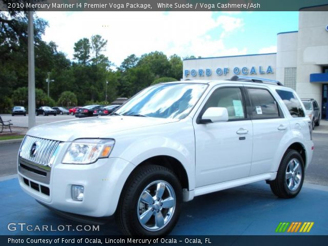 2010 Mercury Mariner I4 Premier Voga Package in White Suede