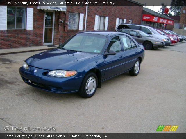 1998 Mercury Tracer LS Sedan in Atlantic Blue