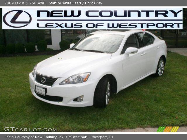 starfire white pearl 2009 lexus is 250 awd light gray interior vehicle. Black Bedroom Furniture Sets. Home Design Ideas
