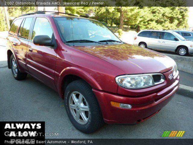 2002 Oldsmobile Bravada AWD in Jewelcoat Red
