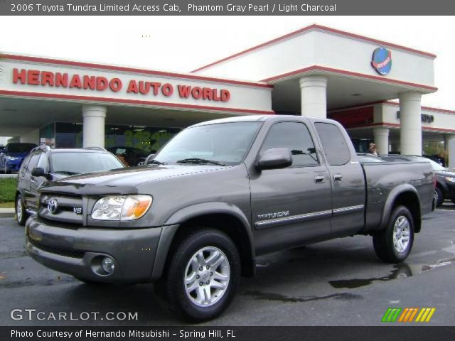 phantom gray pearl 2006 toyota tundra limited access cab light charcoal interior gtcarlot. Black Bedroom Furniture Sets. Home Design Ideas