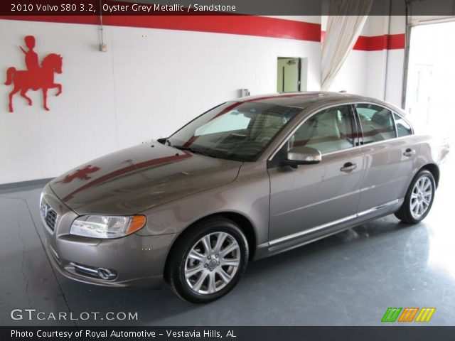 oyster grey metallic 2010 volvo s80 3 2 sandstone. Black Bedroom Furniture Sets. Home Design Ideas