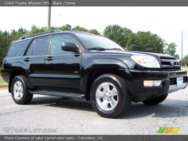 Black 2004 Toyota 4runner Sr5 Stone Interior Vehicle Archive 36064535