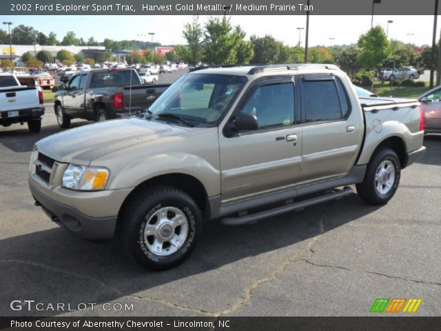 harvest gold metallic 2002 ford explorer sport trac medium prairie. Cars Review. Best American Auto & Cars Review