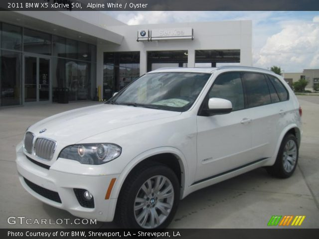 alpine white 2011 bmw x5 xdrive 50i oyster interior. Black Bedroom Furniture Sets. Home Design Ideas
