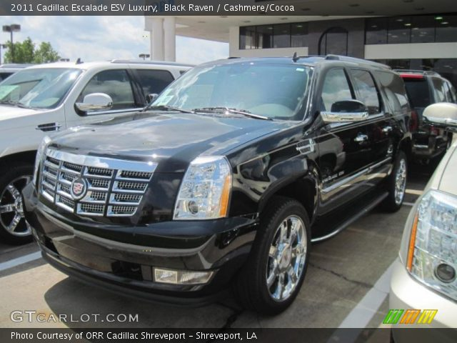 black raven 2011 cadillac escalade esv luxury cashmere. Black Bedroom Furniture Sets. Home Design Ideas