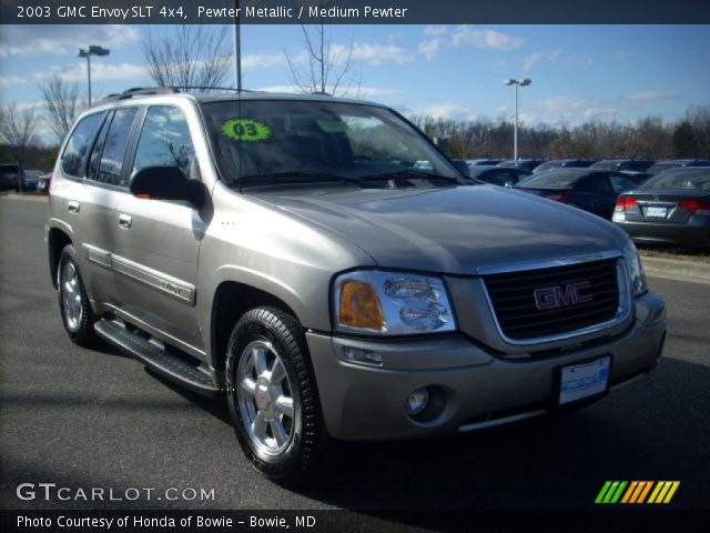 pewter metallic 2003 gmc envoy slt 4x4 medium pewter. Black Bedroom Furniture Sets. Home Design Ideas