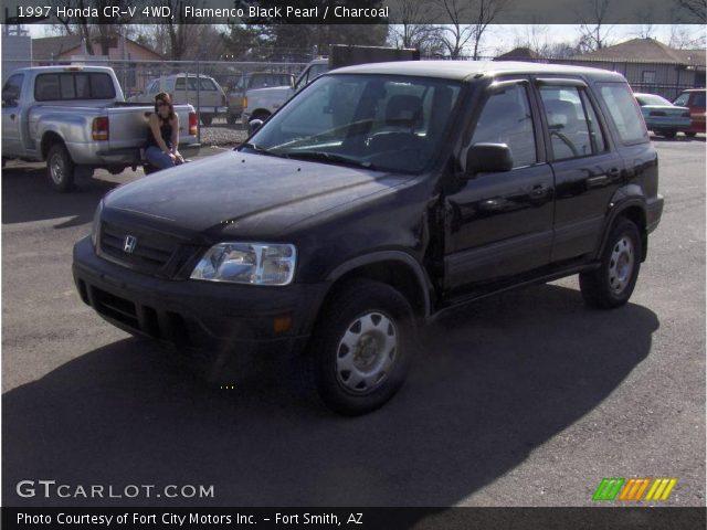 Flamenco Black Pearl 1997 Honda Cr V 4wd Charcoal Interior Vehicle Archive