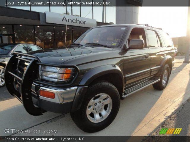 Anthracite Metallic 1998 Toyota 4runner Limited 4x4 Oak Interior Vehicle