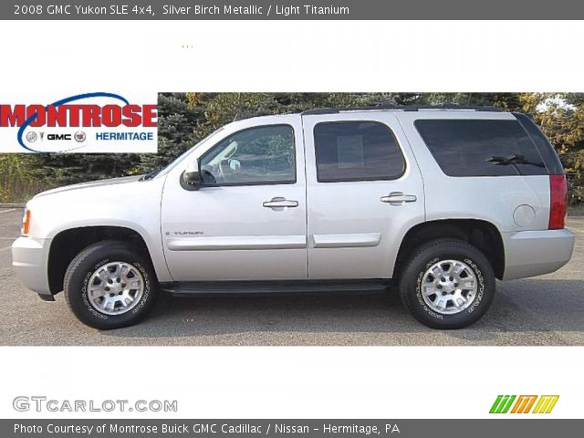 2008 GMC Yukon SLE 4x4 in Silver Birch Metallic