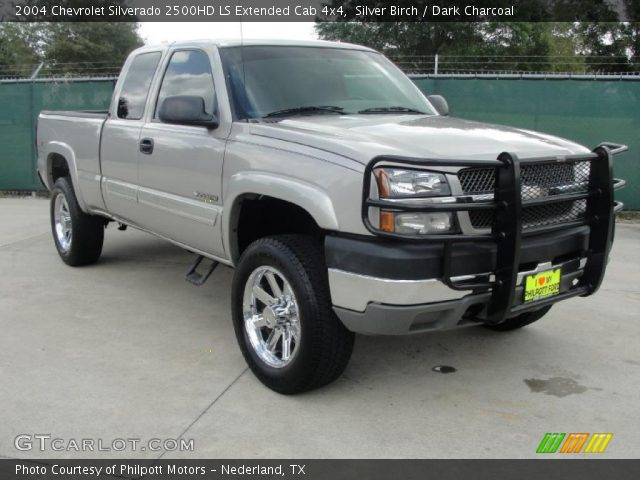 silver birch 2004 chevrolet silverado 2500hd ls extended. Black Bedroom Furniture Sets. Home Design Ideas