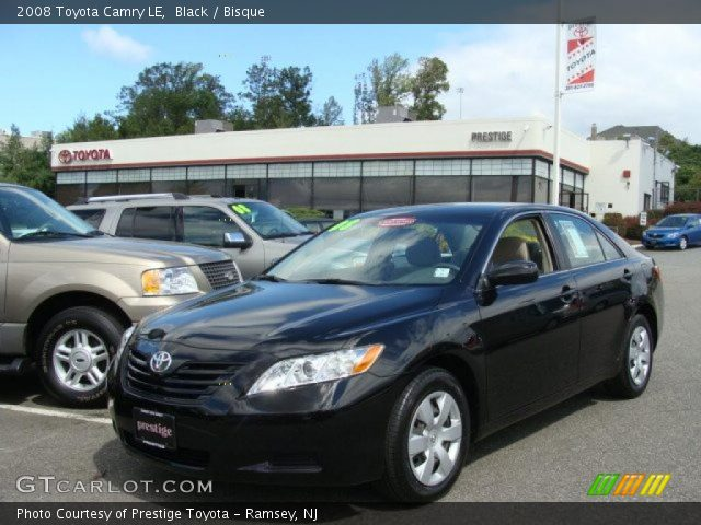 black 2008 toyota camry le bisque interior vehicle archive 36063783. Black Bedroom Furniture Sets. Home Design Ideas