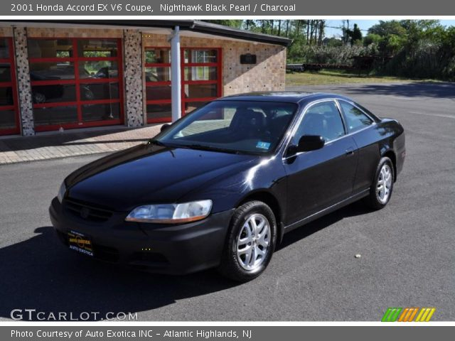 2001 Honda Accord EX V6 Coupe in Nighthawk Black Pearl. Click to see ...