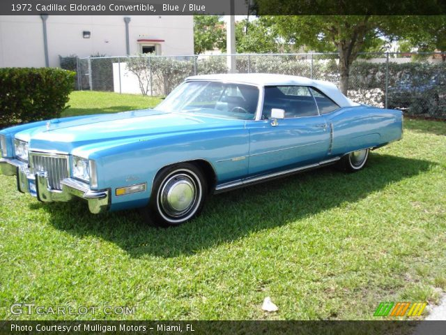 Blue 1972 cadillac eldorado convertible blue interior vehicle archive 354209 for 1972 cadillac eldorado interior