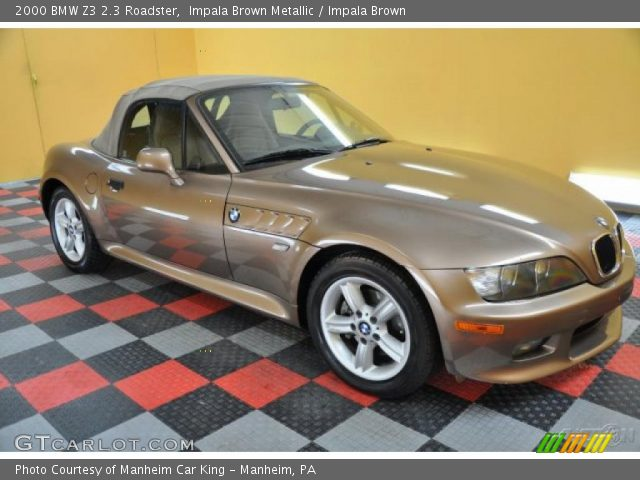 2000 BMW Z3 2.3 Roadster in Impala Brown Metallic