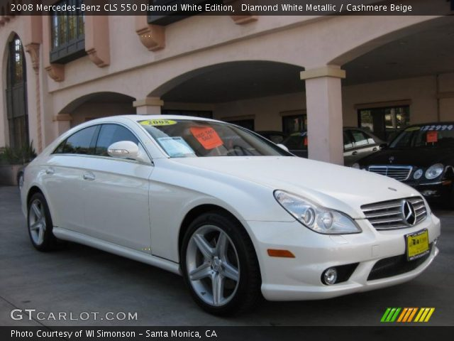 2008 Mercedes-Benz CLS 550 Diamond White Edition in Diamond White Metallic
