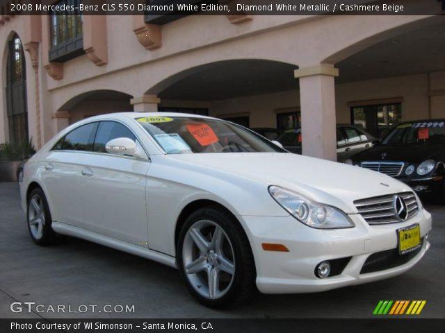 2008 Mercedes-Benz CLS 550 Diamond White Edition in Diamond White Metallic