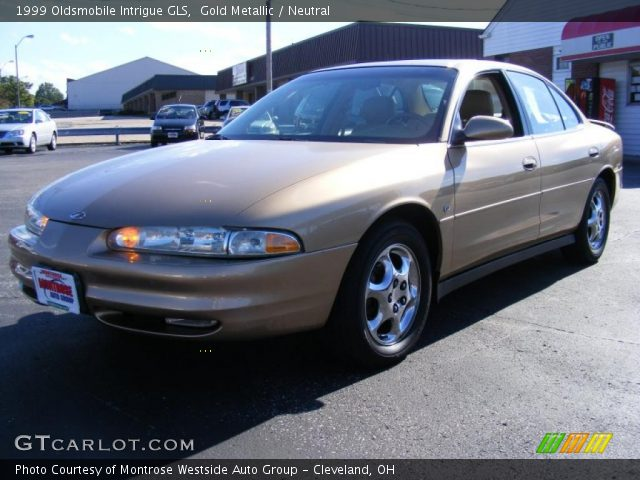 gold metallic 1999 oldsmobile intrigue gls neutral. Black Bedroom Furniture Sets. Home Design Ideas