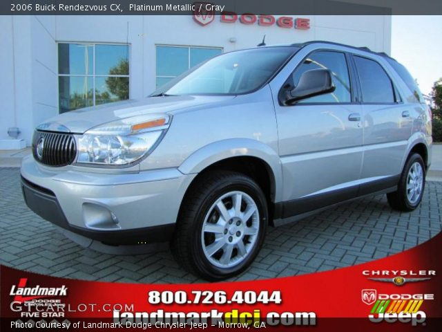 2006 Buick Rendezvous CX in Platinum Metallic