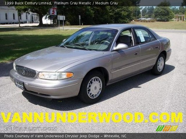 platinum gray metallic 1999 buick century limited. Black Bedroom Furniture Sets. Home Design Ideas