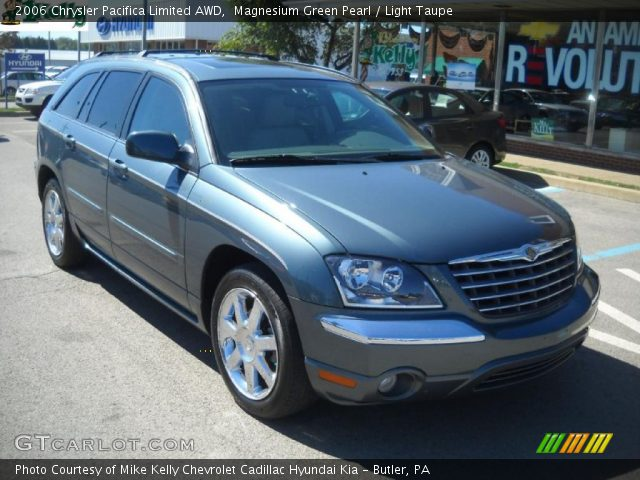 magnesium green pearl 2006 chrysler pacifica limited awd. Black Bedroom Furniture Sets. Home Design Ideas