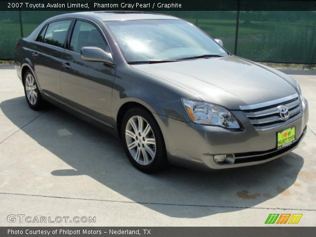 2007 Toyota Avalon Limited in Phantom Gray Pearl. Click to see large ...