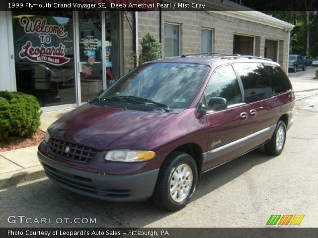 deep amethyst pearl 1999 plymouth grand voyager se. Black Bedroom Furniture Sets. Home Design Ideas