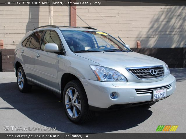 bamboo pearl 2006 lexus rx 400h awd hybrid ivory. Black Bedroom Furniture Sets. Home Design Ideas