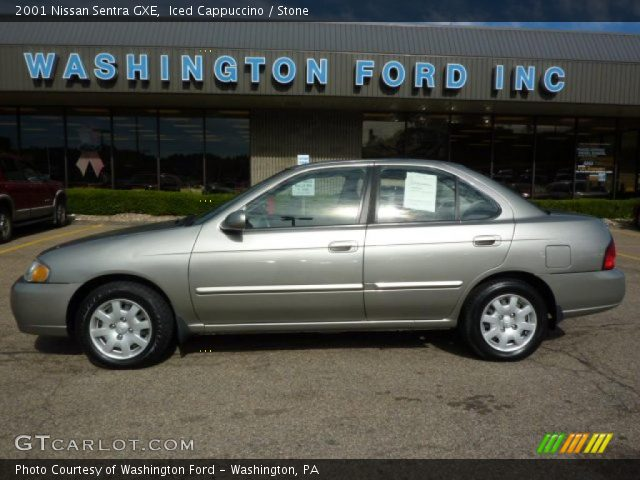 iced cappuccino 2001 nissan sentra gxe stone interior. Black Bedroom Furniture Sets. Home Design Ideas