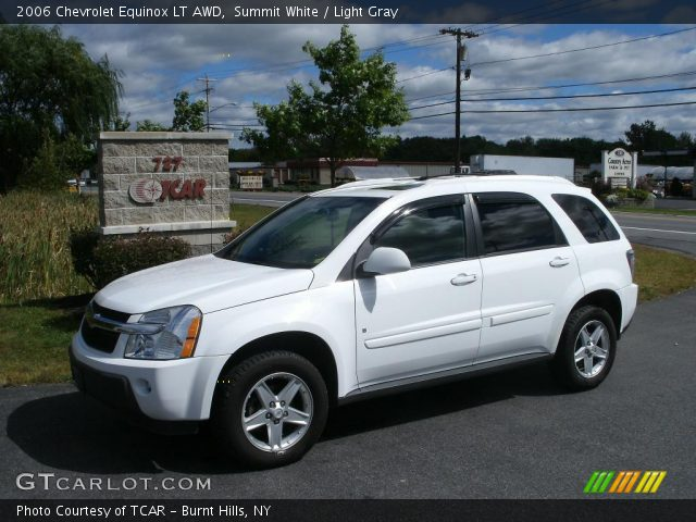 summit white 2006 chevrolet equinox lt awd light gray. Black Bedroom Furniture Sets. Home Design Ideas