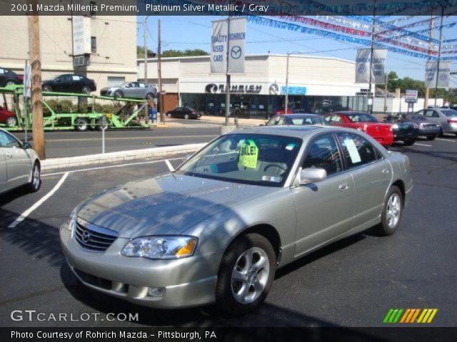 2001 Mazda Millenia Premium in Platinum Silver Metallic