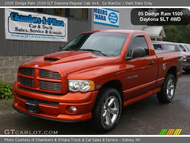 go mango 2005 dodge ram 1500 slt daytona regular cab 4x4 dark slate gray interior. Black Bedroom Furniture Sets. Home Design Ideas