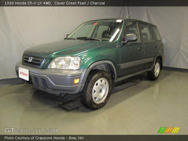 clover green pearl 1999 honda cr v lx 4wd charcoal. Black Bedroom Furniture Sets. Home Design Ideas