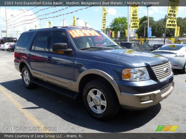 medium wedgewood blue metallic 2003 ford expedition eddie bauer with. Cars Review. Best American Auto & Cars Review
