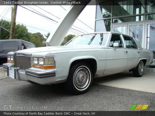1989 Cadillac Brougham Sedan in Cotillion White