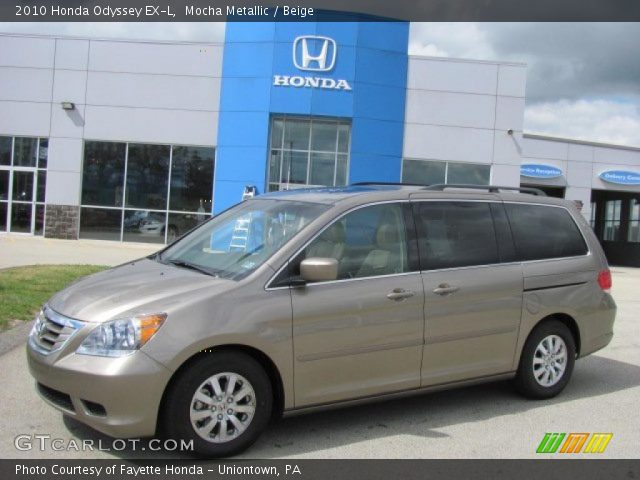 Mocha metallic 2010 honda odyssey ex l beige interior vehicle archive 36623021 for Honda odyssey 2018 mocha interior