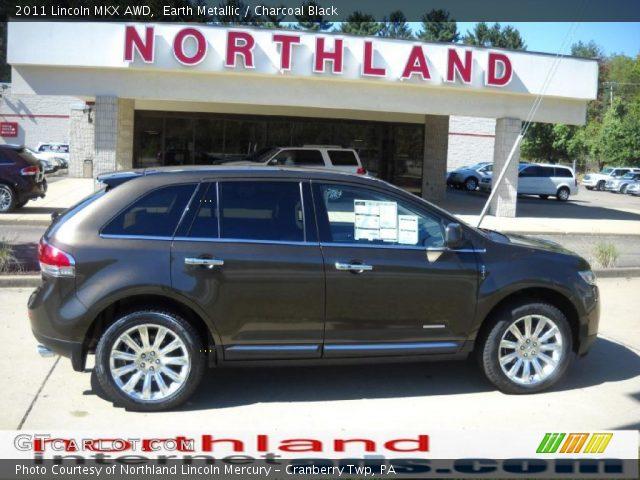 2011 Lincoln MKX AWD in Earth Metallic