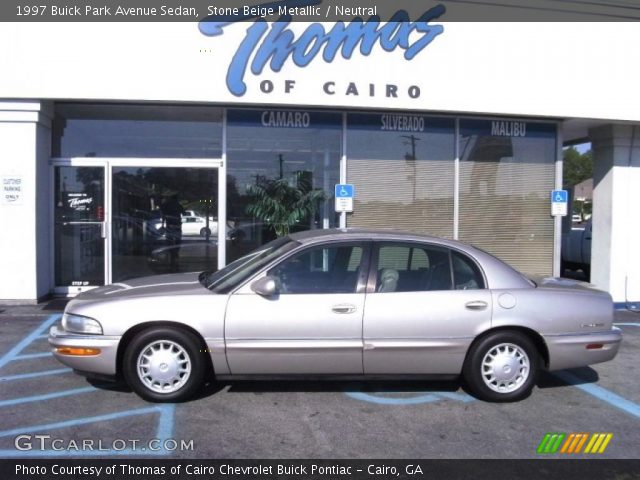 1997 Buick Park Avenue Sedan in Stone Beige Metallic