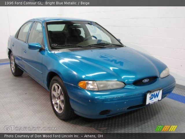 bright blue metallic 1996 ford contour gl beige interior gtcarlot com vehicle archive 36767480 gtcarlot com