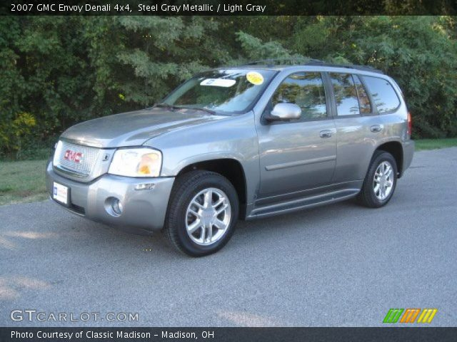 steel gray metallic 2007 gmc envoy denali 4x4 light. Black Bedroom Furniture Sets. Home Design Ideas