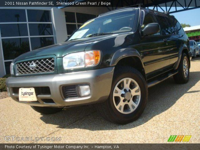 sherwood green pearl 2001 nissan pathfinder se beige. Black Bedroom Furniture Sets. Home Design Ideas