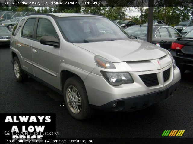 liquid silver metallic 2005 pontiac aztek dark gray. Black Bedroom Furniture Sets. Home Design Ideas
