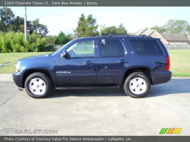 2009 Chevrolet Tahoe LT in Dark Blue Metallic