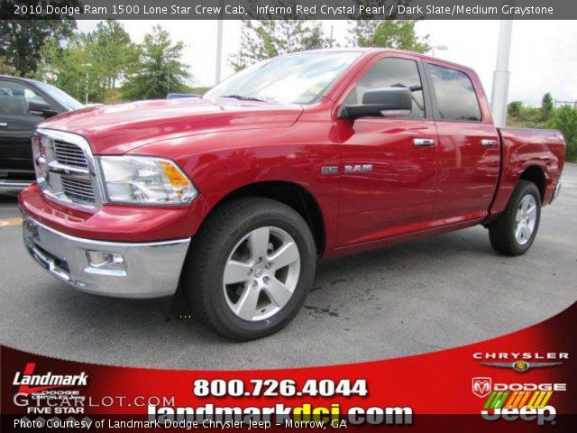 2012 Dodge Ram 1500 For Sale >> Inferno Red Crystal Pearl - 2010 Dodge Ram 1500 Lone Star Crew Cab - Dark Slate/Medium Graystone ...