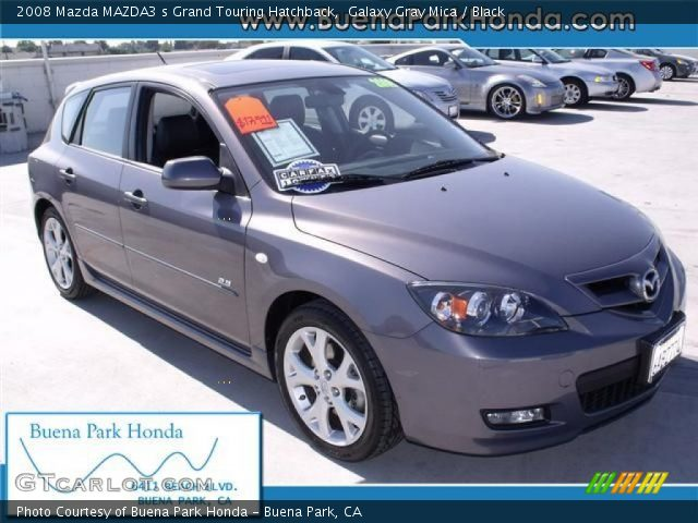 galaxy gray mica 2008 mazda mazda3 s grand touring. Black Bedroom Furniture Sets. Home Design Ideas