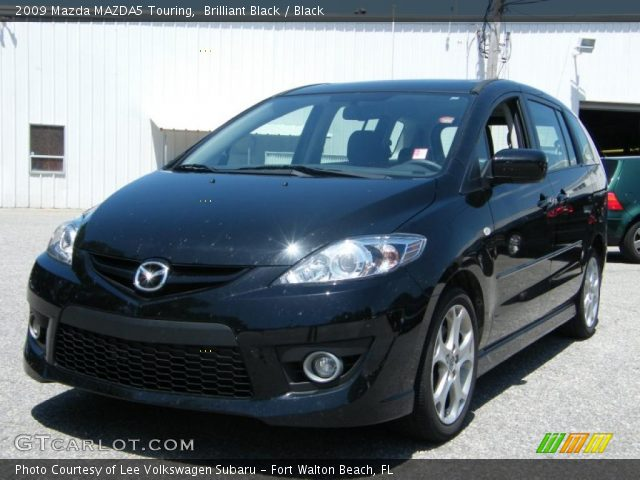 brilliant black 2009 mazda mazda5 touring black. Black Bedroom Furniture Sets. Home Design Ideas