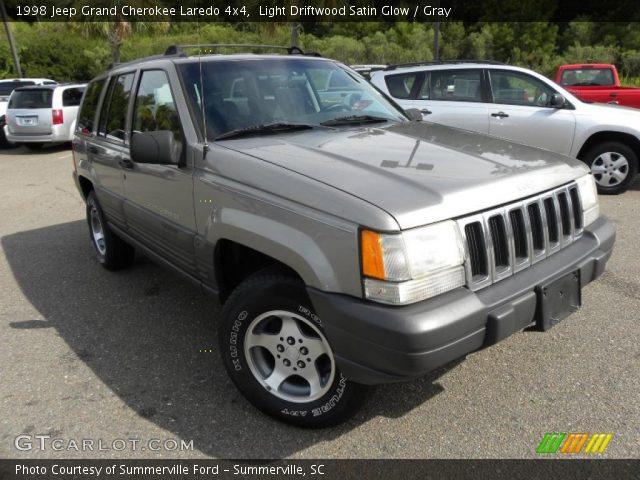 Light Driftwood Satin Glow 1998 Jeep Grand Cherokee Laredo 4x4 Gray Interior
